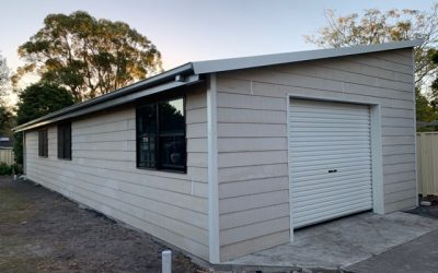 What Is  A Skillion Roof Shed House?