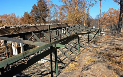 Rebuilding A Shed After Bushfire